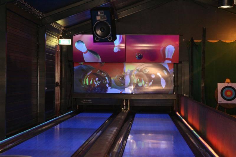 Bowlingbanen Overijssel bij 5 sterren camping, Hardenberg - Bowlingbanen Overijssel