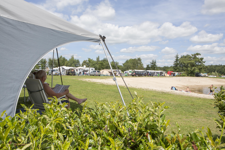 Comfort kampeerplaats op ANWB 5 sterren camping - Comfort kampeerplaats XXl