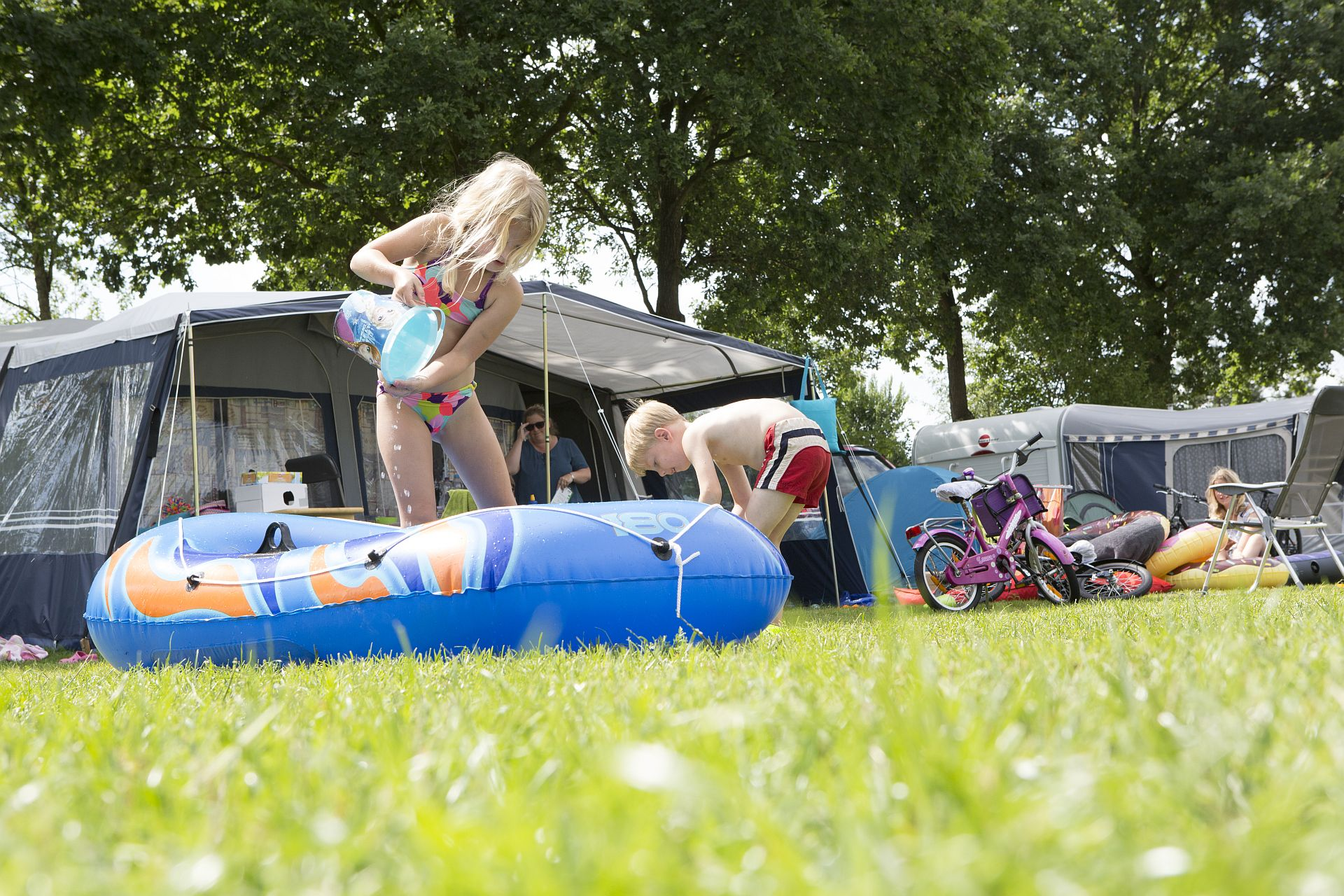 Kamperen in Overijssel op 5 sterren camping - Kamperen in Overijssel