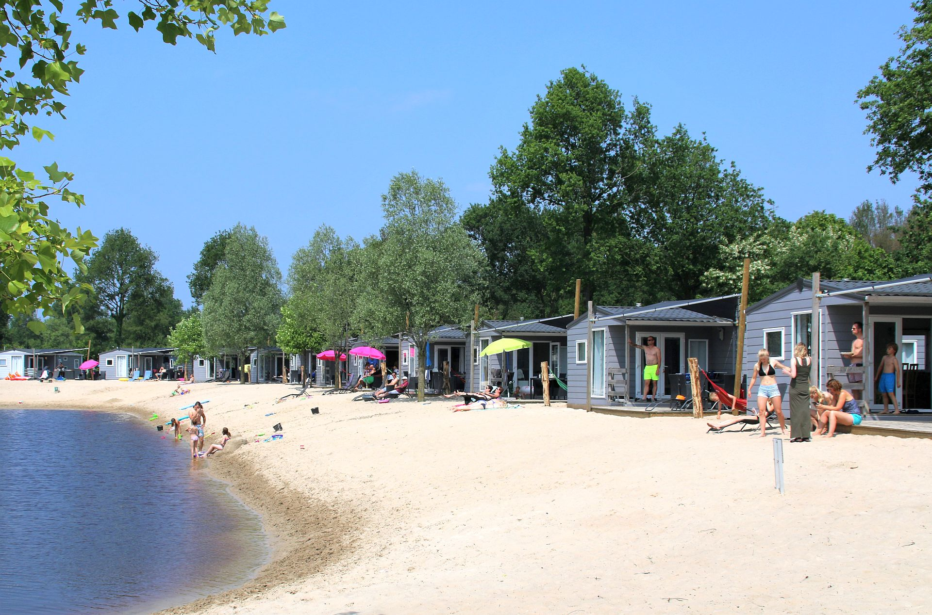 Chalet verhuur in Overijssel met verrassende strandvakantie - chalet verhuur in Overijssel