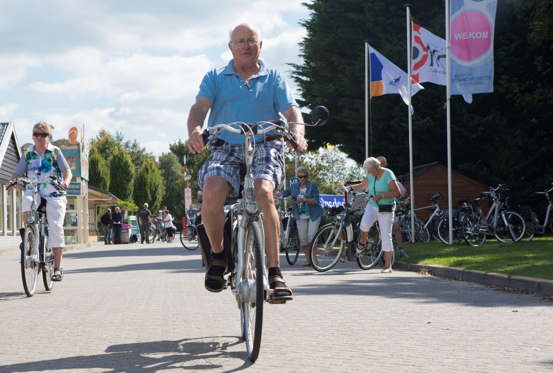 Fietsvakantie in Overijssel op een 5 sterren camping - fietsvakantie in Overijssel