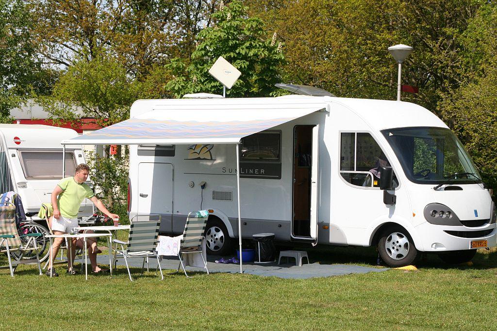 Camperplaats in Overijssel op 5 sterren camping - Camperplaats in het mooie Overijssel