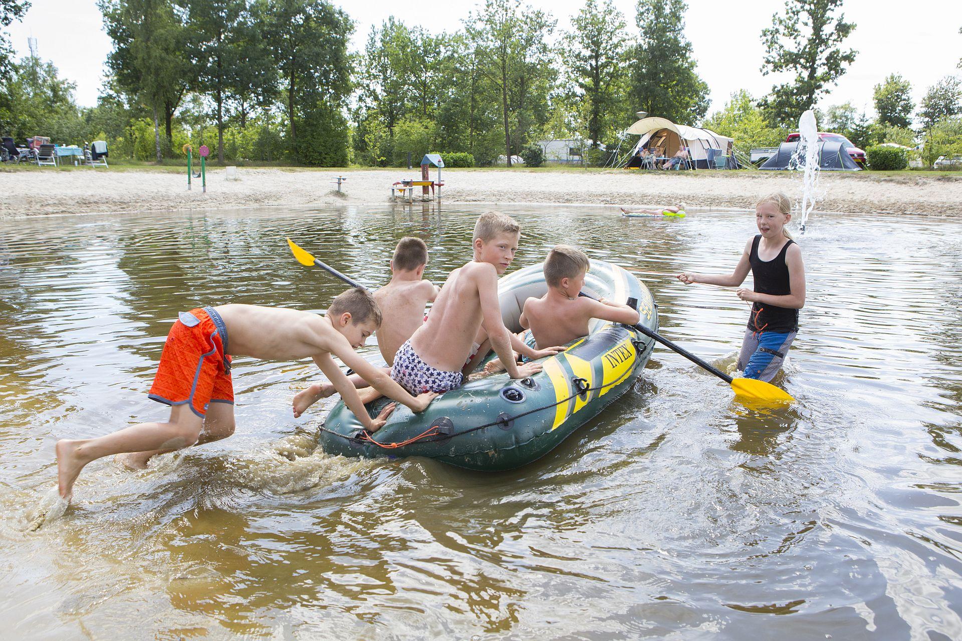Camping in Slagharen dichtbij het attractiepark - Camping in Slagharen Overijssel
