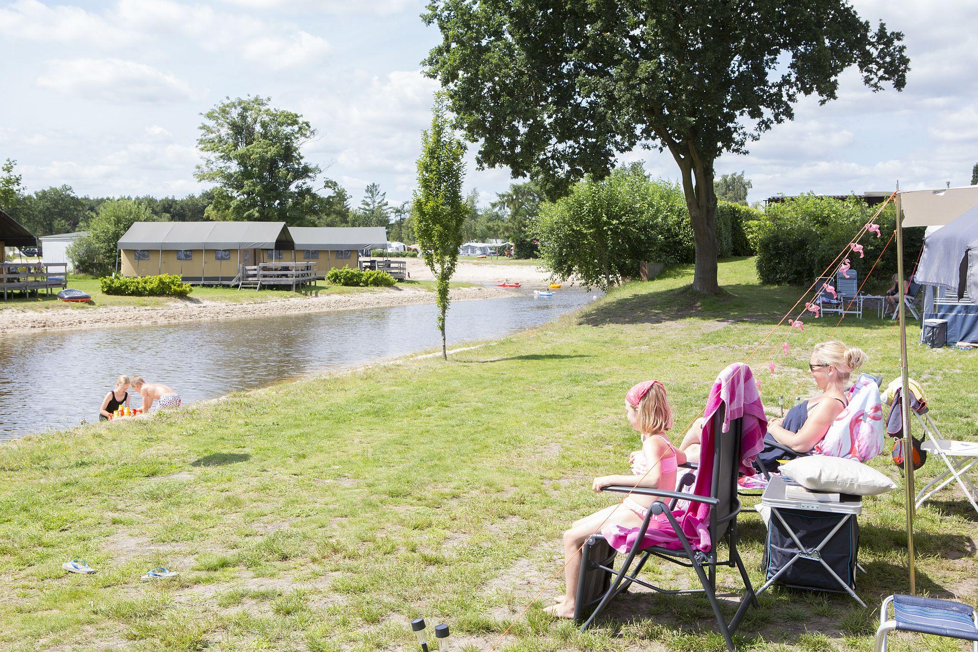 Camping vakantie in Overijssel op Vakantiepark het Stoetenslagh - Camping vakantie in Overijssel NL