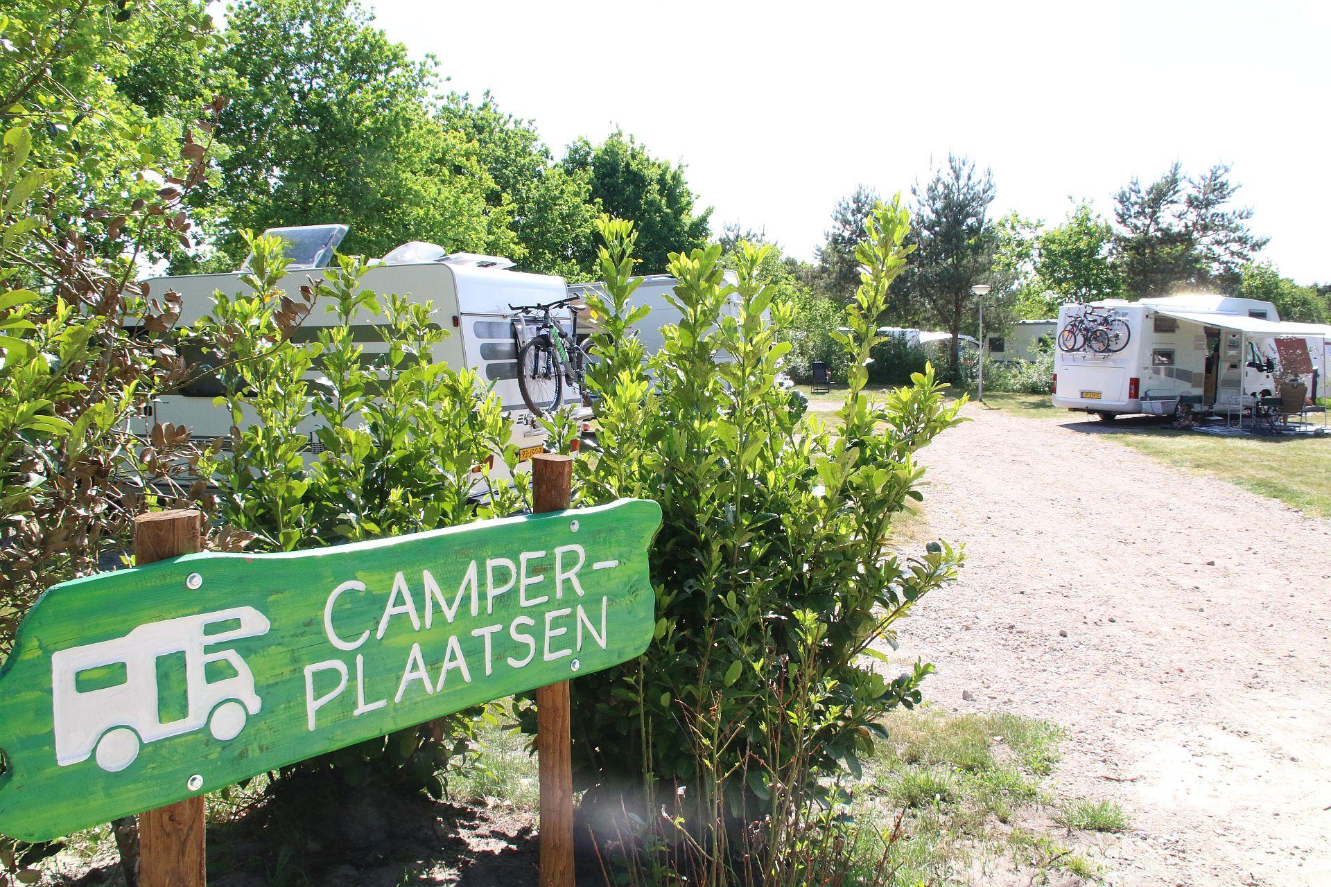Camperplaats in Overijssel op 5 sterren camping - Mooie camperplaats in Overijssel