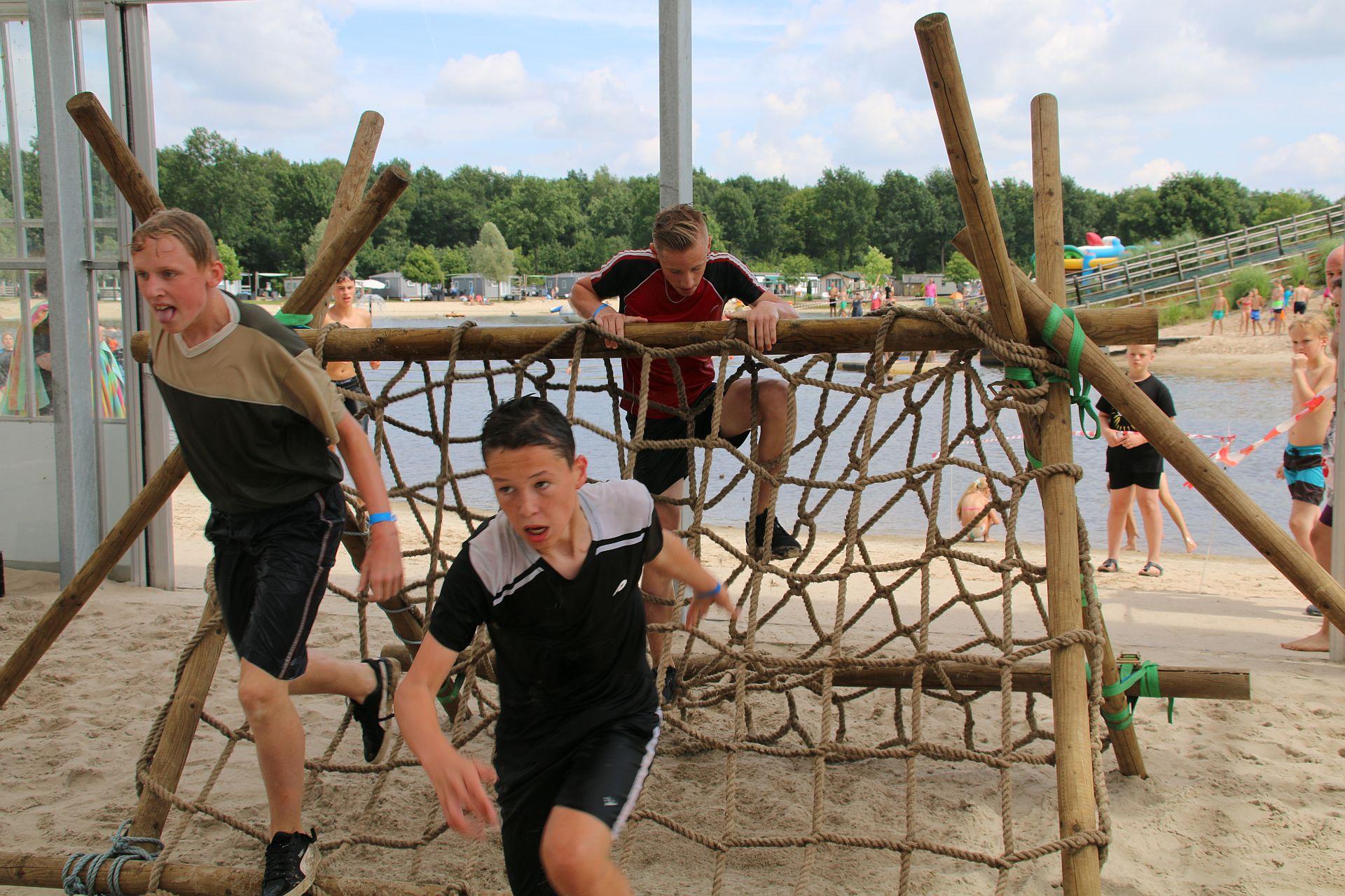 Schoolreisje Overijssel in onze Happy Fun Beach - Schoolreisje Overijssel NL