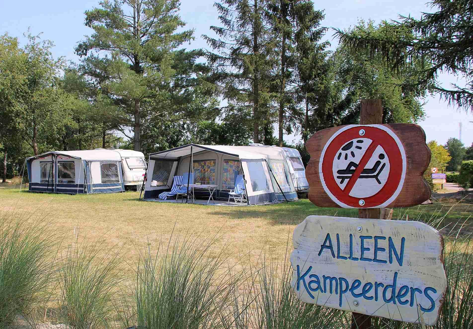 Comfortcamping met zwembad in Overijssel met 5 sterren - comfort camping met mooi zwembad