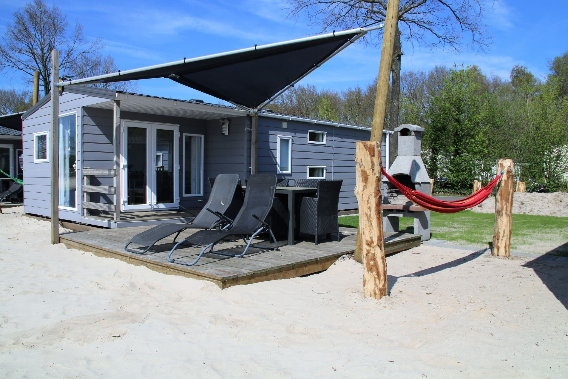 Beachlodge Top TV 6 pers. - prachtige strandchalets