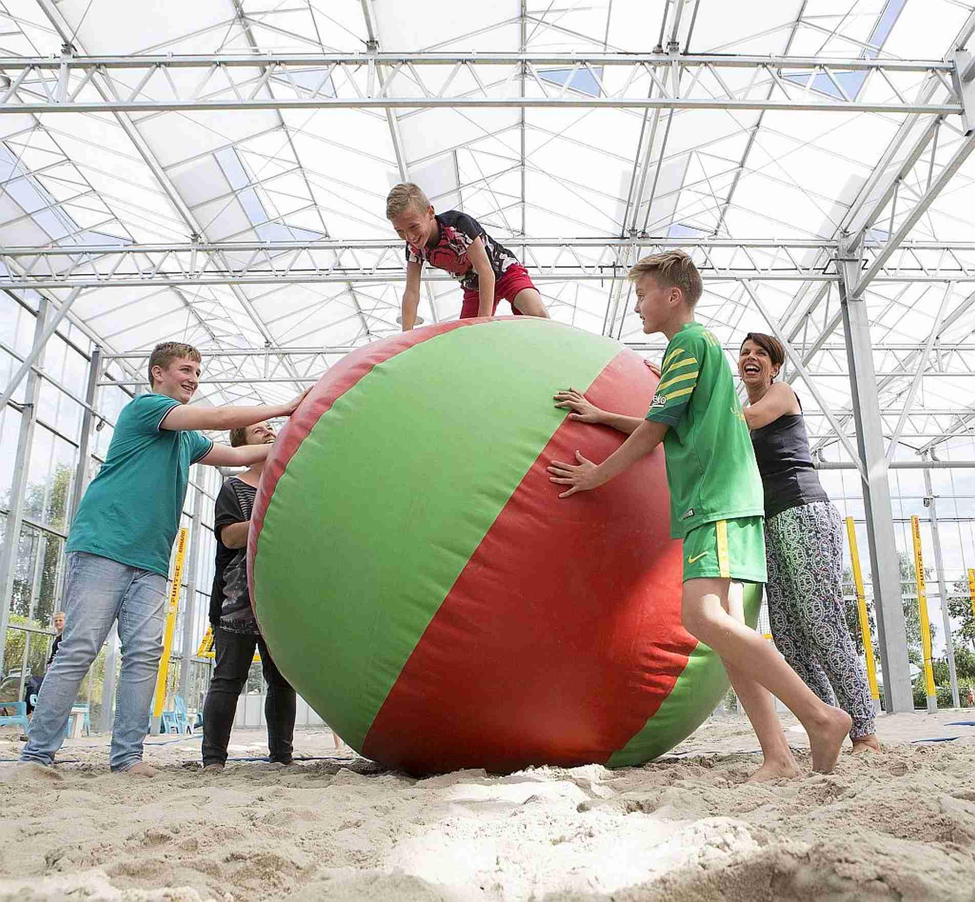 Feesten en partijen in Overijssel met een strandbelevenis - Feesten en partijen in het mooie Overijssel