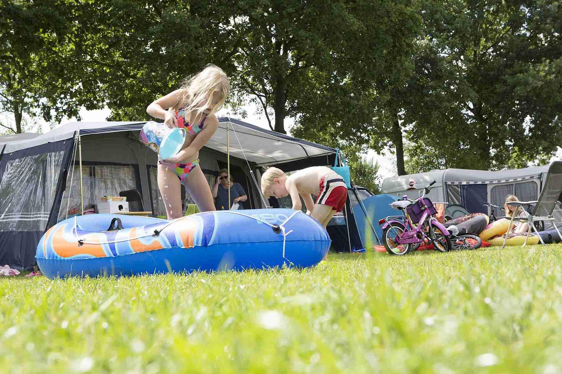 Strandvakantie in Overijssel op een 5 sterren camping - Mooie strandvakantie in Overijssel