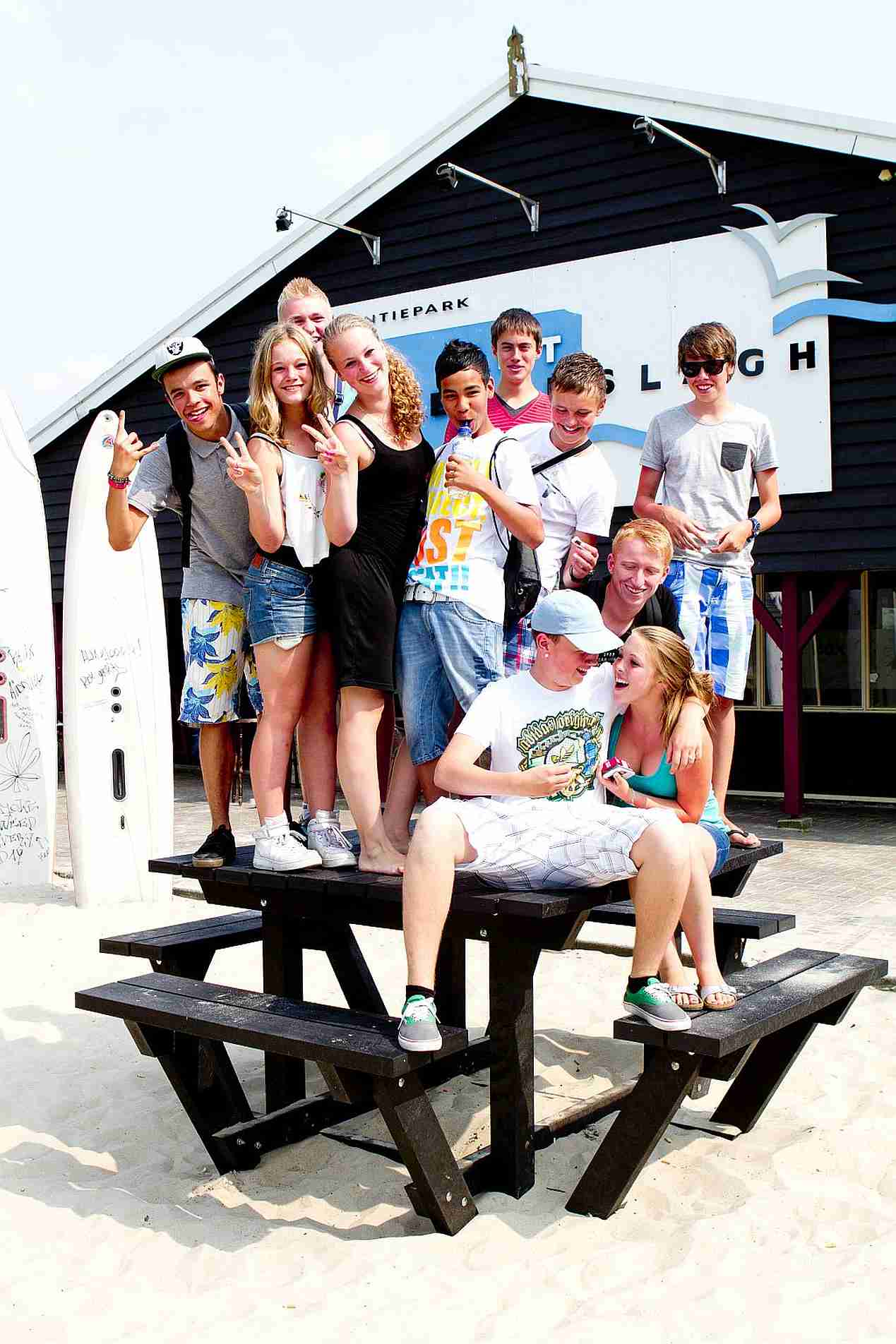 DE BOX, de tienerplek van Vakantiepark het Stoetenslagh! - Tienerruimte the box