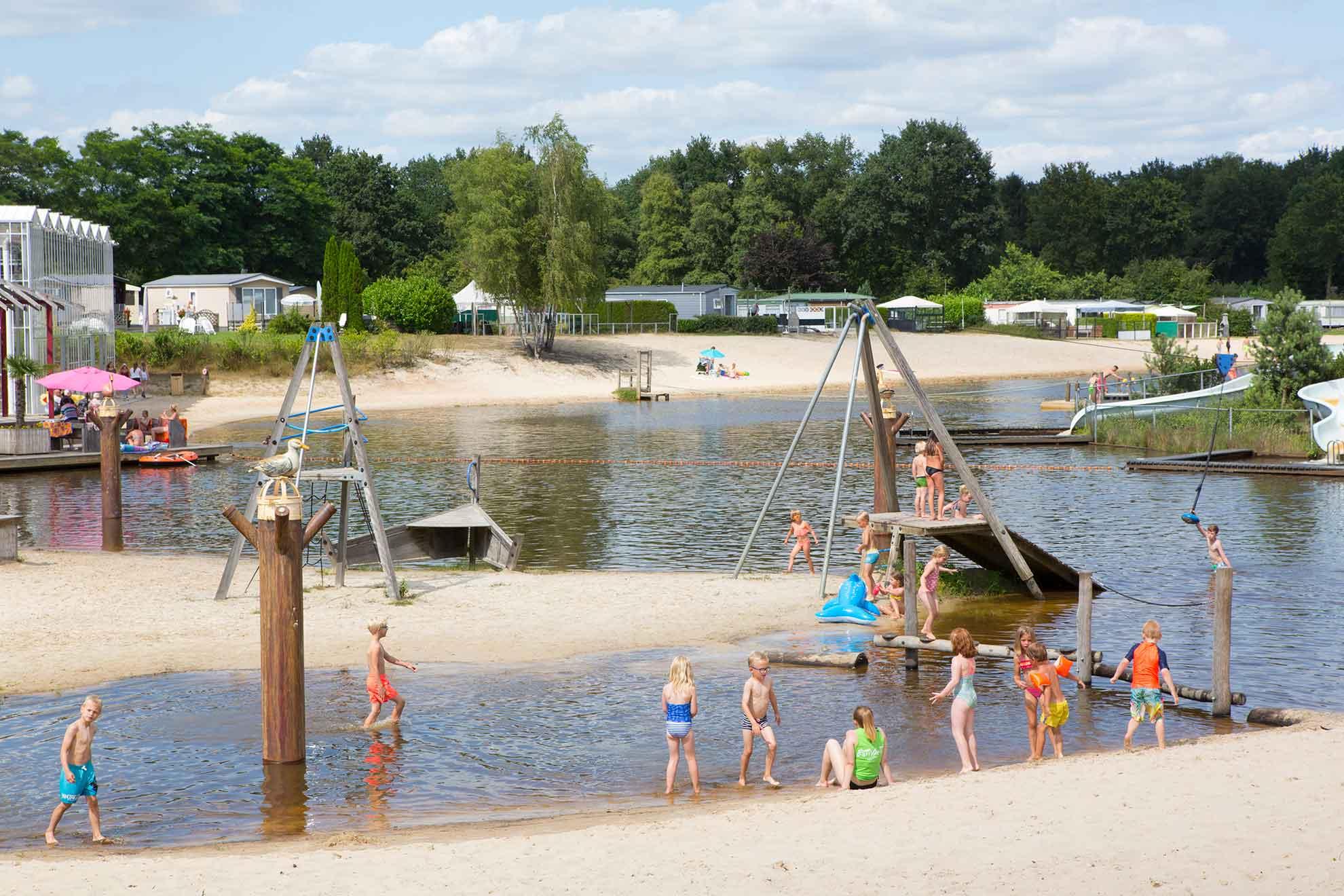 Camping vakantie in Overijssel op Vakantiepark het Stoetenslagh - 5 sterren camping vakantie in Overijssel