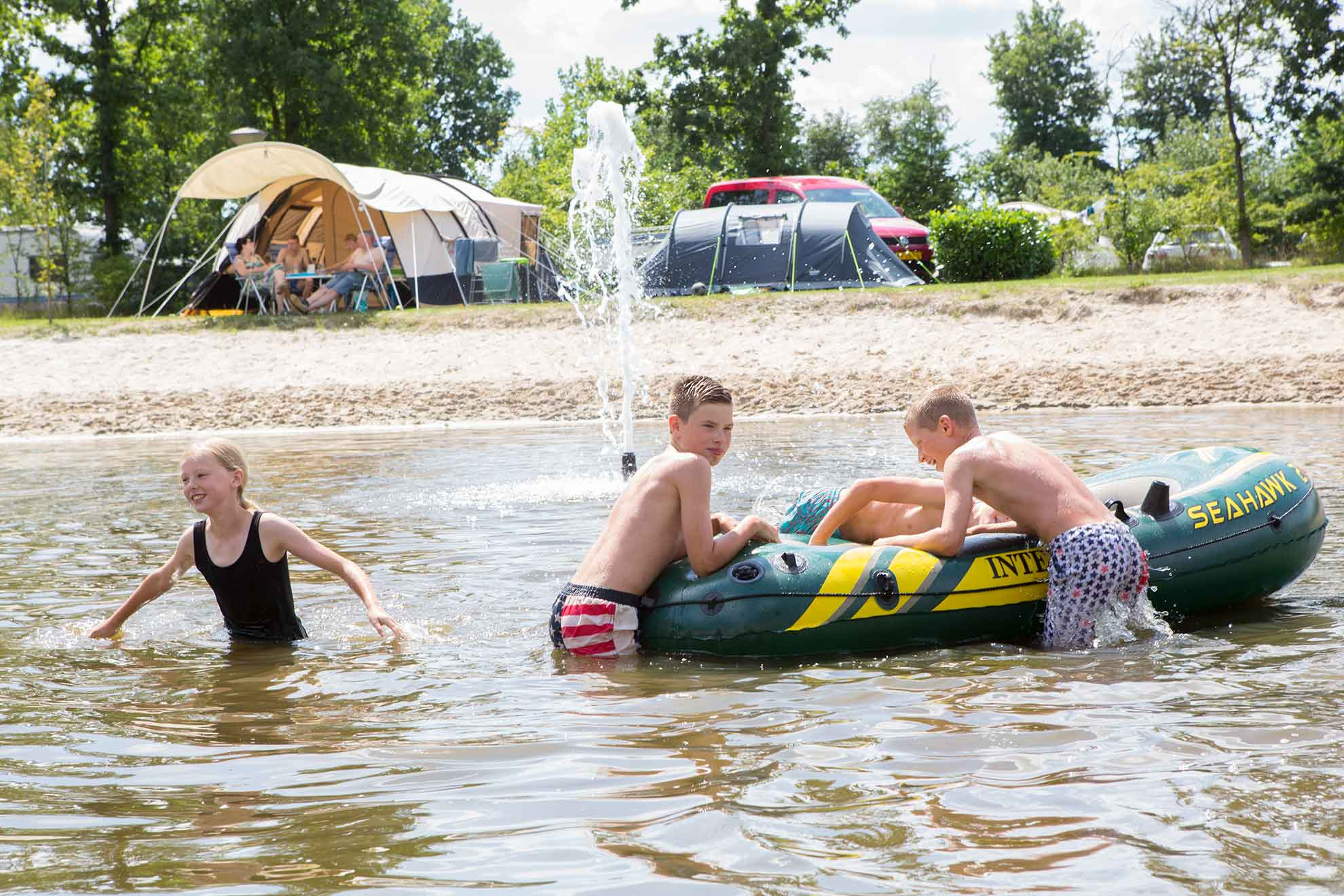 ANWB camping in Overijssel, met 5 sterren voorzieningen - ANWB camping in Overijssel