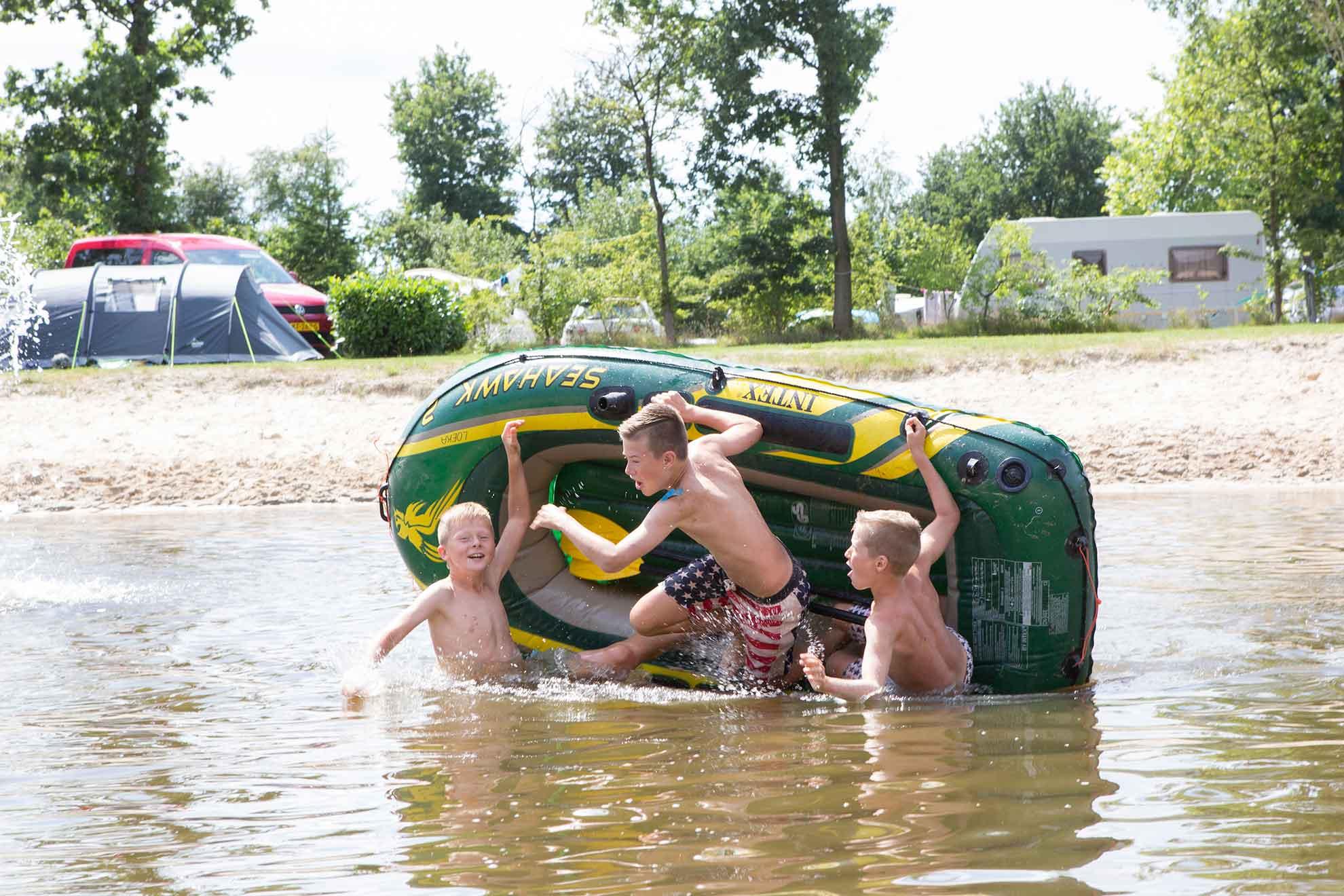 Camping in Hardenberg voor gezinnen met kinderen - Camping in Hardenberg
