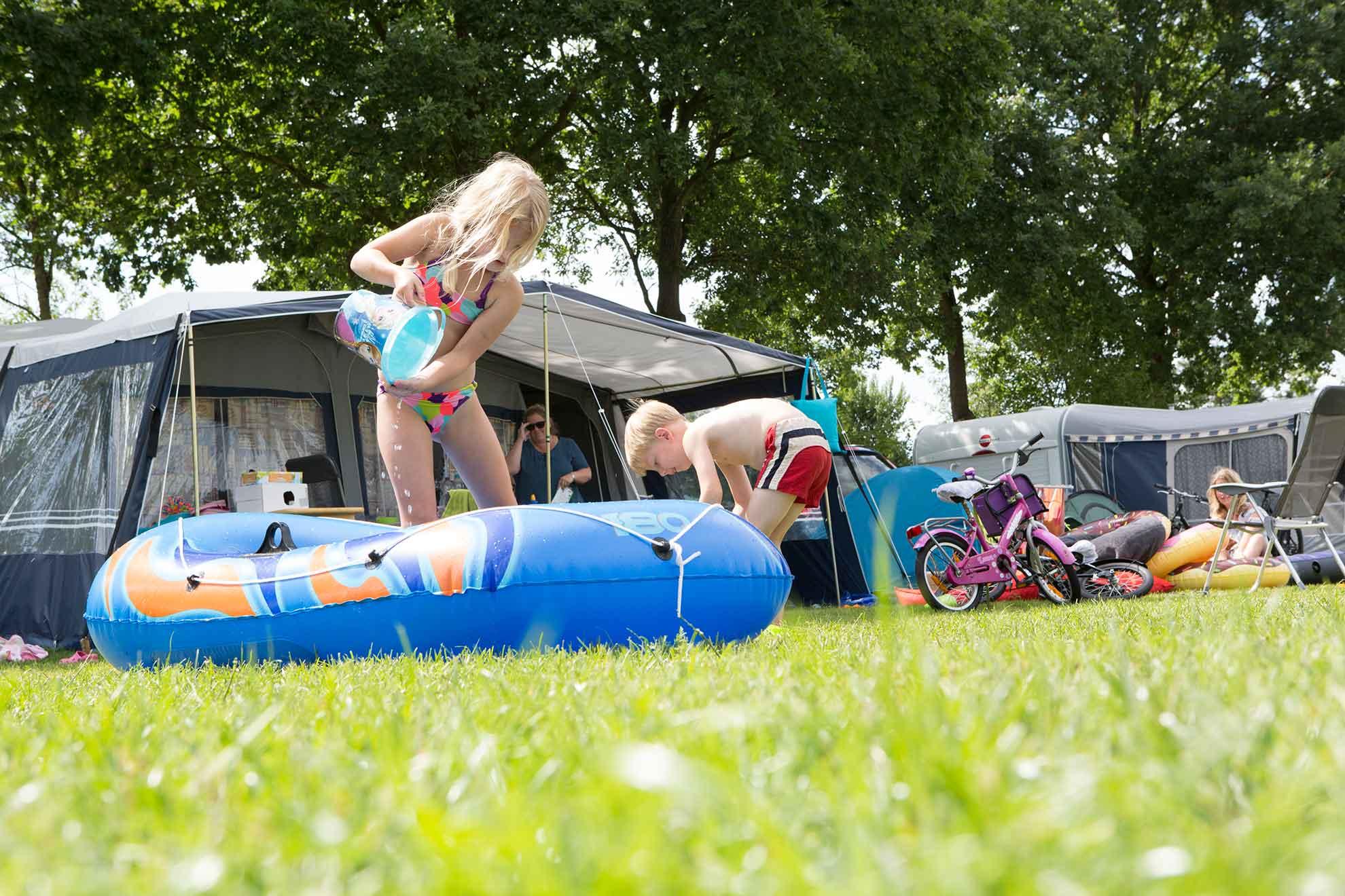 Camping seizoenplaatsen op ANWB 5 sterren camping - Camping seizoenplaats in Overijssel