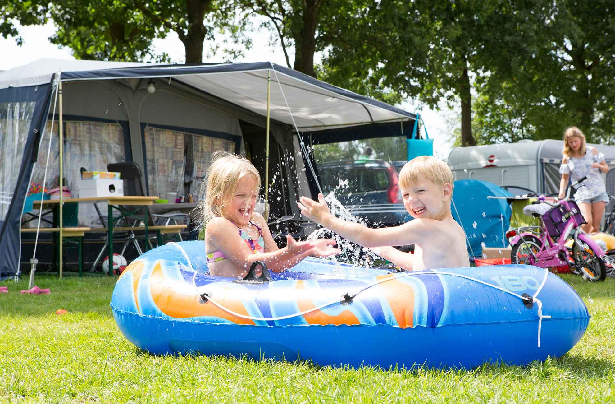 Mooie en ruime kindercamping in het Vechtdal Overijssel! - Leukste kindercamping Vechtdal Overijssel