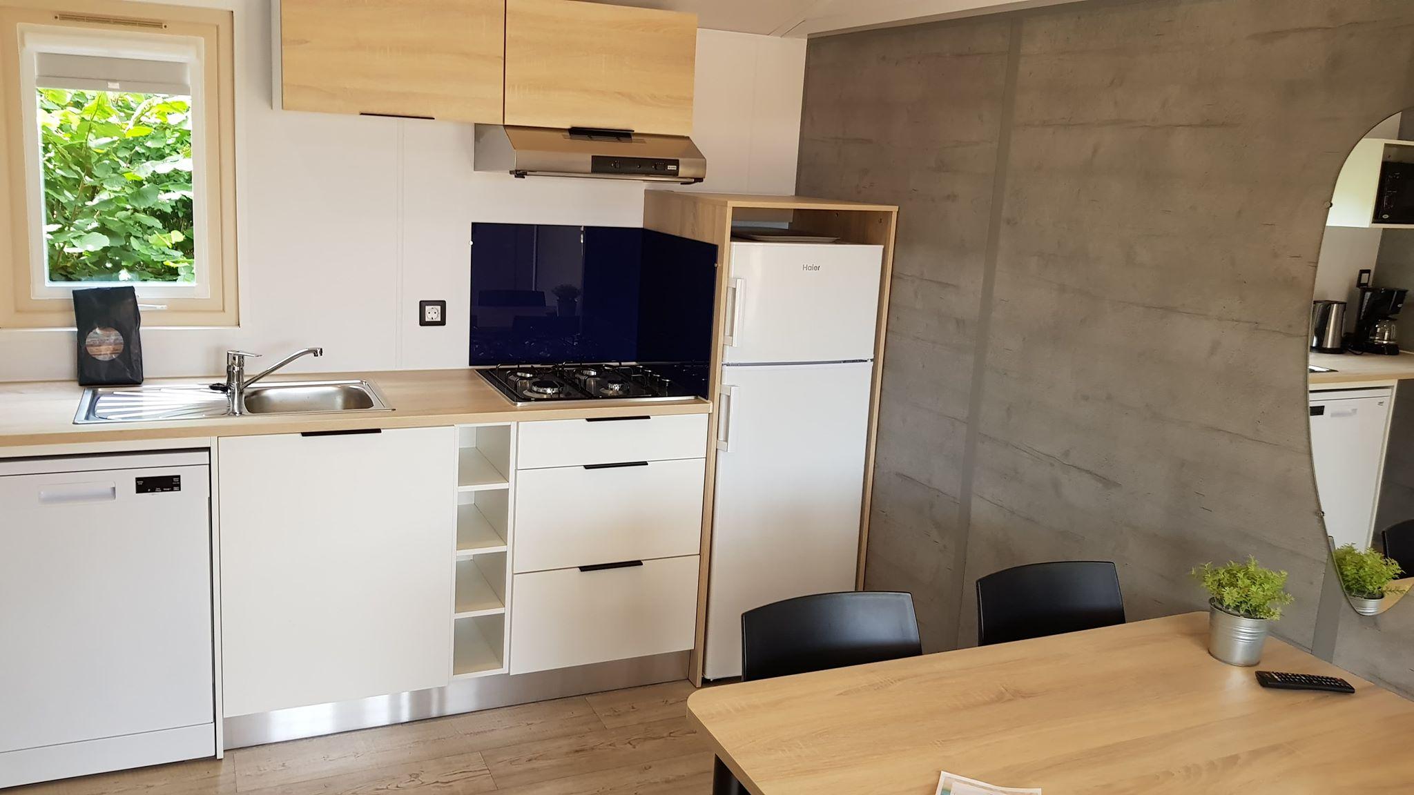 Chalet Jasmijn 4 personen met tweede badkamer! - Luxe chalet in Overijssel