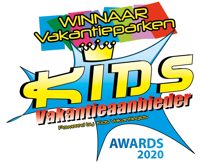 Wij zijn winnaar van de Kids Vakantieaanbieder van het jaar Award - Kids vakantieaanbieder van het jaar award